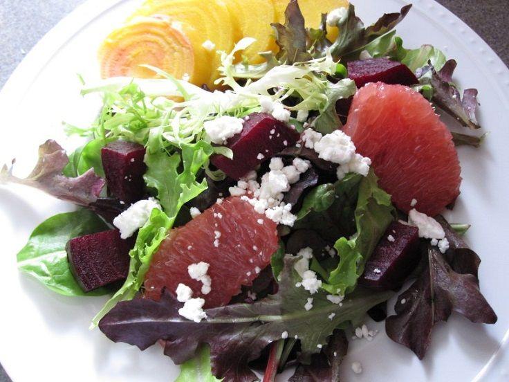 Salad With Citrus Vinaigrette   yummy - salads   Pinterest   Citrus ...