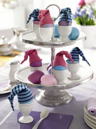 """Eierwärmer """"Minimatrosen"""" für den Frühstückstisch #diy                                                                                                                                                                                 Mehr"""