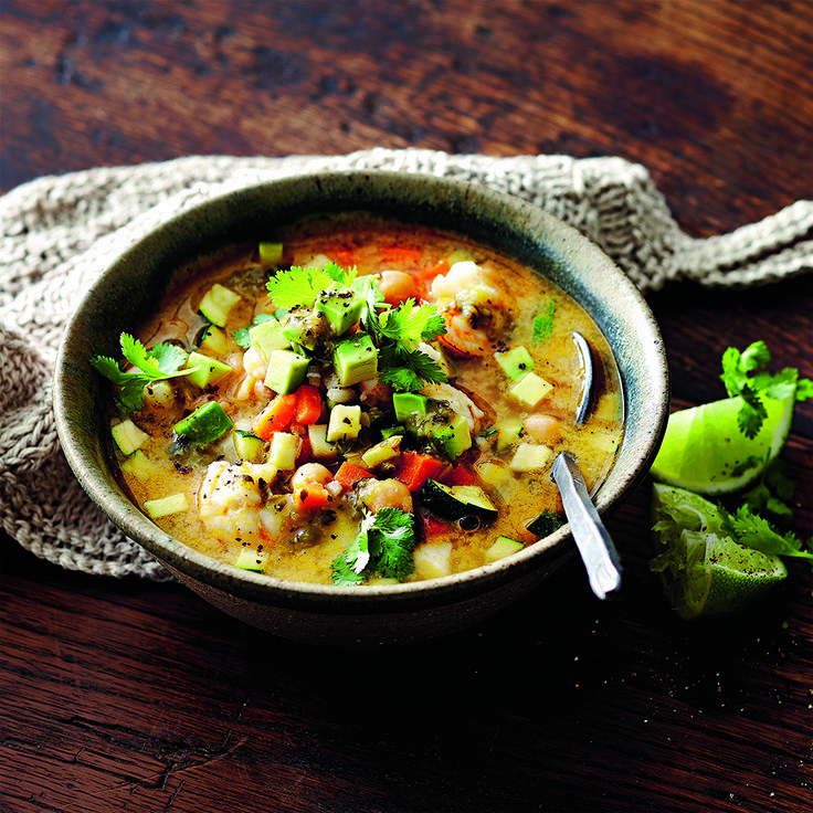 A hearty soup, that is big on flavour.