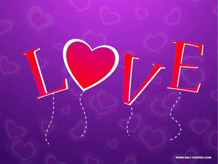 purple love valentine day - photo #47