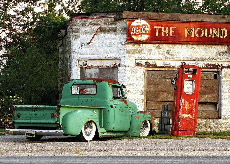 thatyellowvolvoguy:   1951 Chevy 3100 - god I love old trucks (source)