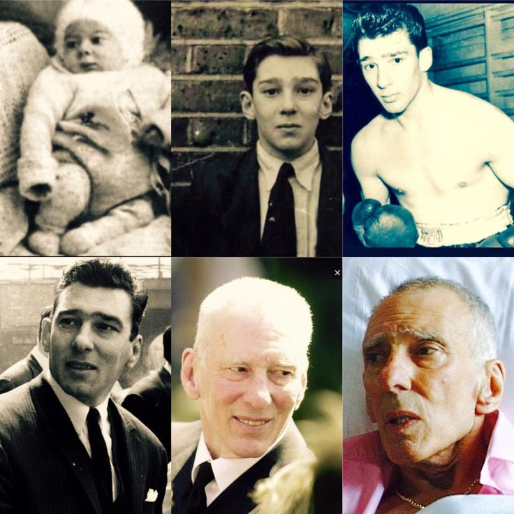 (I did not put these pictures together, just to clarify) Reggie Kray.
