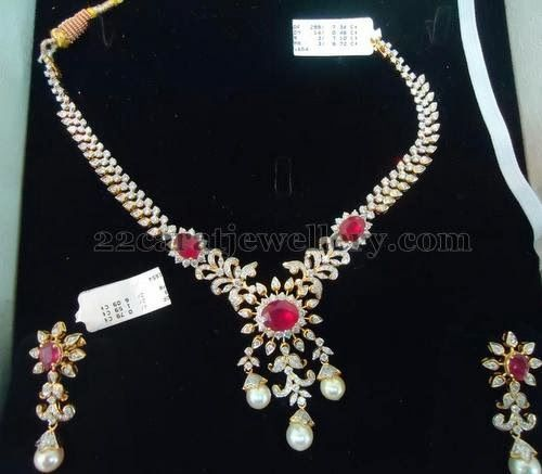 25 Best Ideas About Indian Jewelry Sets On Pinterest: Best 25+ Indian Diamond Necklace Ideas On Pinterest