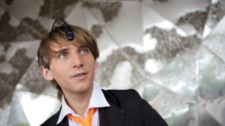 Artist Neil Harbisson is completely colour-blind. Here, he explains how a camera attached to his head allows him to hear colour.