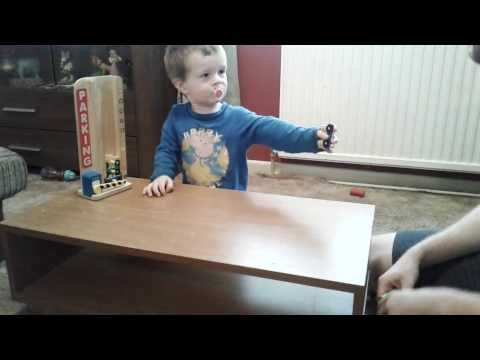 Developing Computational Thinking with a 2-Year-Old using his Toys