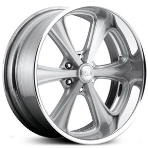 New 2015 U.S. Mags Milner U215 custom wheels, brushed clear coat rims.