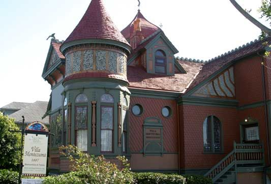 Villa Montezuma, San Diego, CA was built in the late 1800's by Jesse Shepherd, a spiritualist who conducted seances here, and he is one of two spirits who still makes himself known around the place.