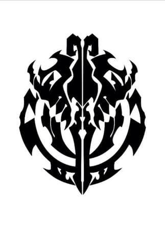 Overlord Logo Clan  Overlord  Anime art Anime tattoos
