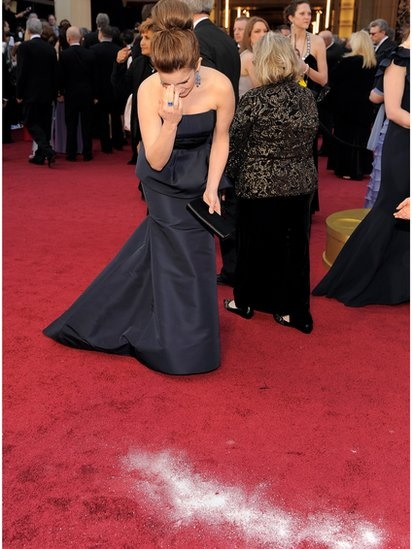 Tina Fey at her best, quick on her feet.