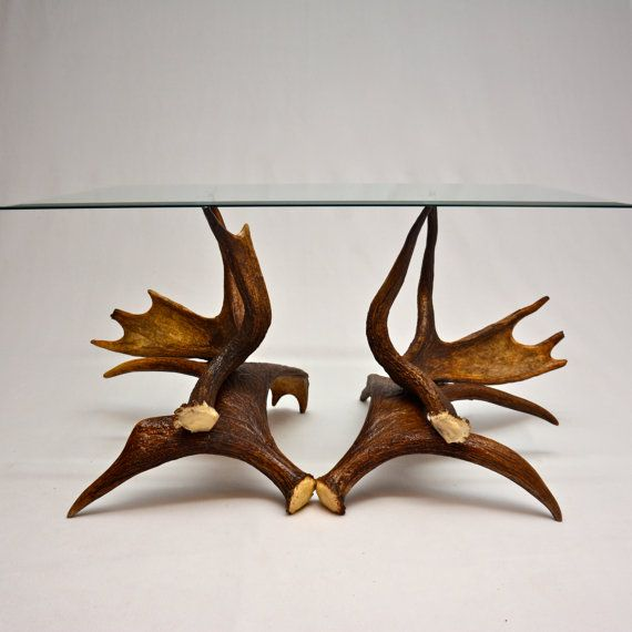 17 Best Images About Antler Tables On Pinterest Horns Kitchen Tables And We