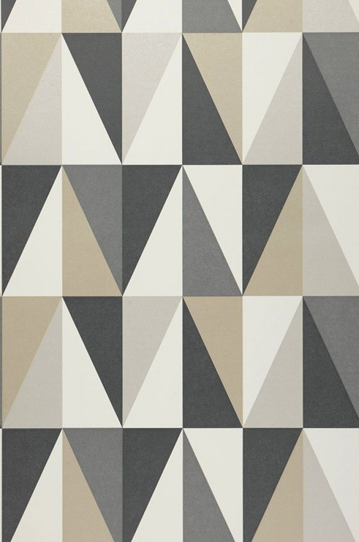 Lenus | Geometrical wallpaper | Wallpaper patterns | Wallpaper from the 70s