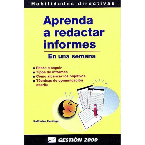 Aprenda A Redactar Informes Tapa Blanda En 2021 Aprender A Redactar Consejos De Administracion Aprender A