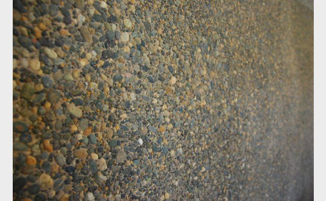 Peter Fell Coloured Concrete | Exposed precast for Mt Difficulty Wines