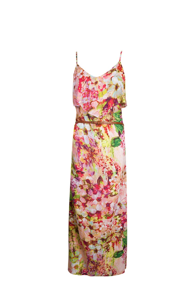 Floral front frill maxi dress at R130 from Mr Price.