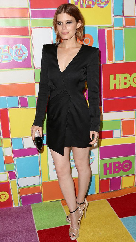 Kate Mara rocks a hot LBD for some post-Emmys partying!