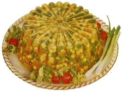 Golden Salad: Culture Combinations, Food Obsession, Regrett Food, Retro Jello, Retro Food, The Bride, Vintage Food, Jello Salad, Jello Moldings