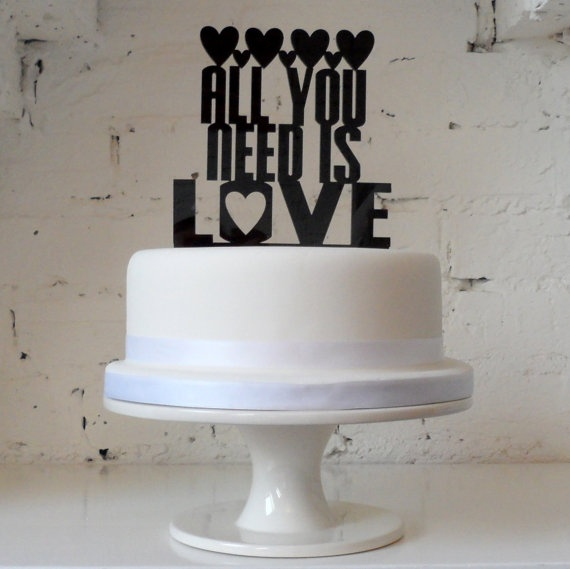 Items Similar To Your Favourite Song Or First Wedding Dance On A Cake Topper Bespoke Custom Made Laser Cut