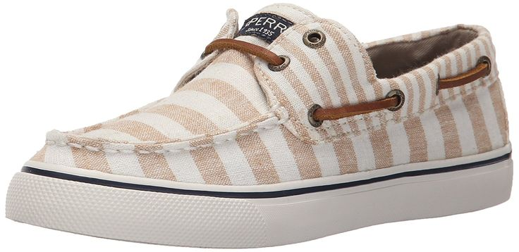 Sperry Top-Sider Women's Bahama Multi Stripe Sand Fashion Sneaker -- Details can be found by clicking on the image.