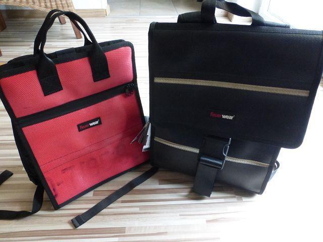Produkttest: Feuerwear Rucksack Eric und Damenrucksack Elvis