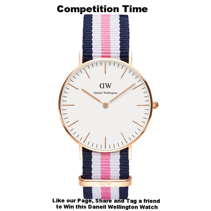 Its competition time at Destiny Jewellers.  We would love to give away a Daniel Wellington a Classic Southampton 36mm Rose Gold watch.  All you have to do is Like our page, Share and Tag a friend who would also love to own their very own Daniel Wellington.  This competition will run until we say stop! We will randomly pick and announce the winner on our page.