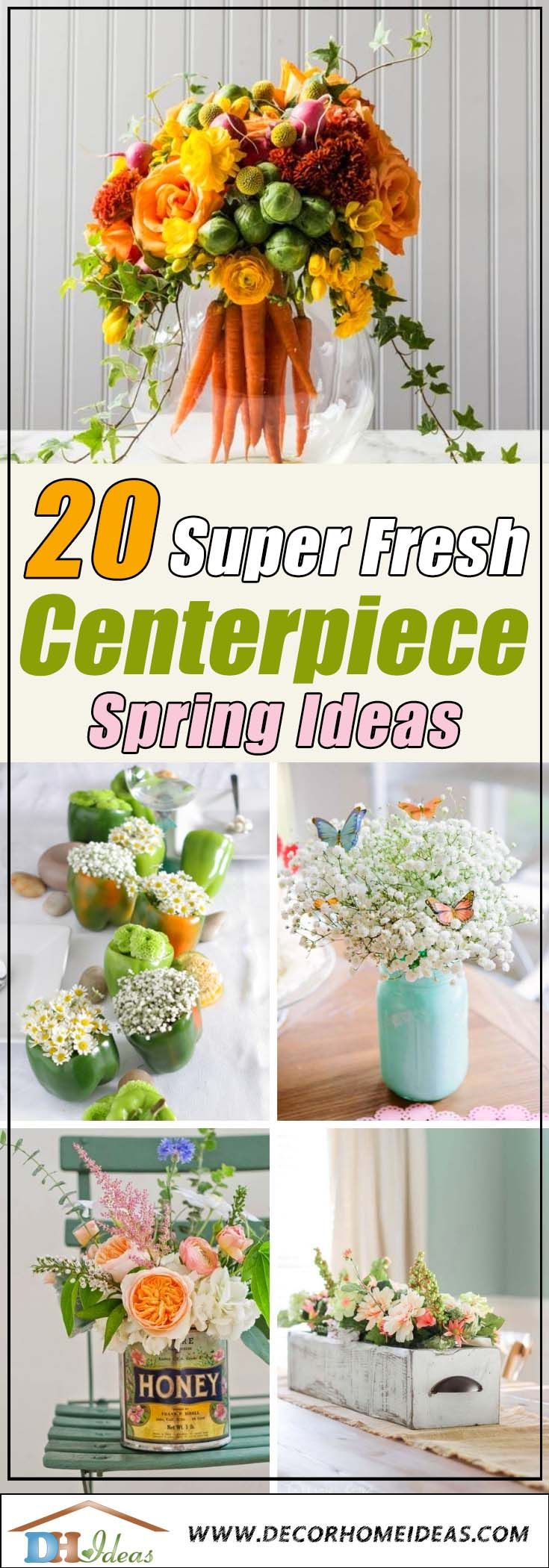 20 Fresh Spring Centerpiece Ideas To Celebrate The Season
