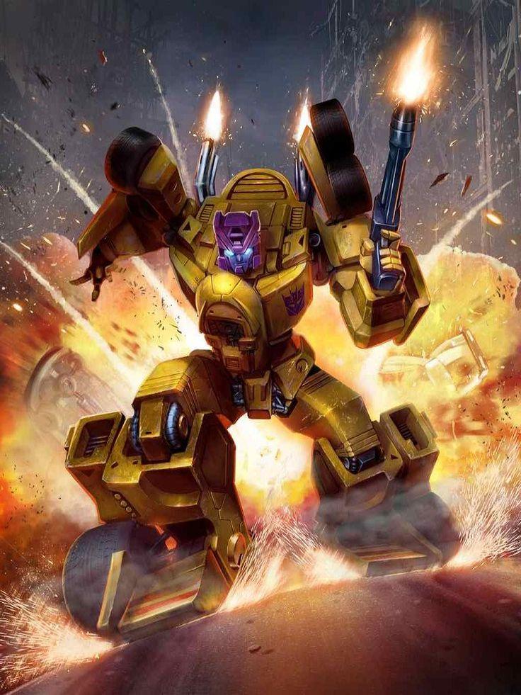 Stunticon Drag Strip Artwork From Transformers Legends