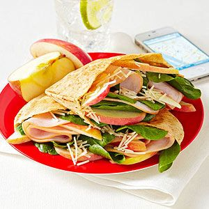 Turkey, Apple, and Cheese Pita Pockets: Cups Baby, 1 2 Apples, Lunches Recipes, Flats Belly, Slices Apples, Pita Pockets, Turkey Breast, Healthy Lunches, 400 Calories Lunches