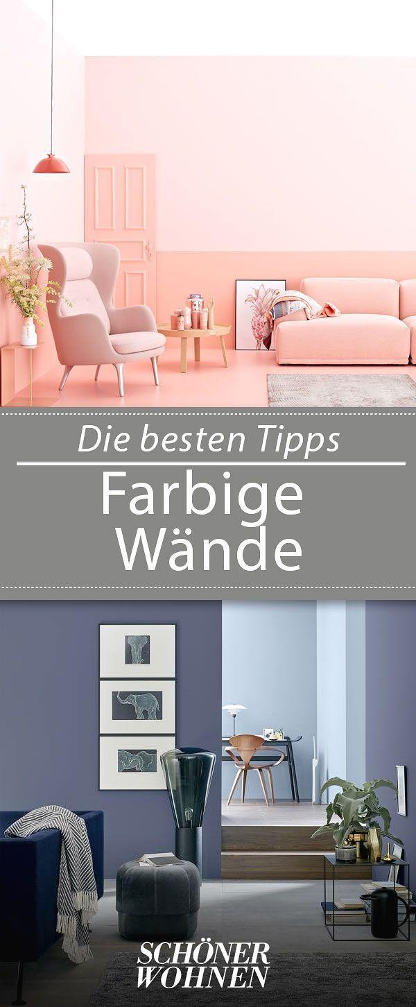 Mit Farben Problemzonen In Der Wohnung Vertuschen Bild 2 Wandgestaltung Wohnzimmer Farbe Wandgestaltung Farbe Wände Streichen