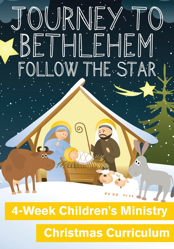 Journey to Bethlehem 4-Week Children's Ministry Christmas Curriculum http://www.childrens-ministry-deals.com/products/journey-to-bethlehem-4-week-christmas-curriculum