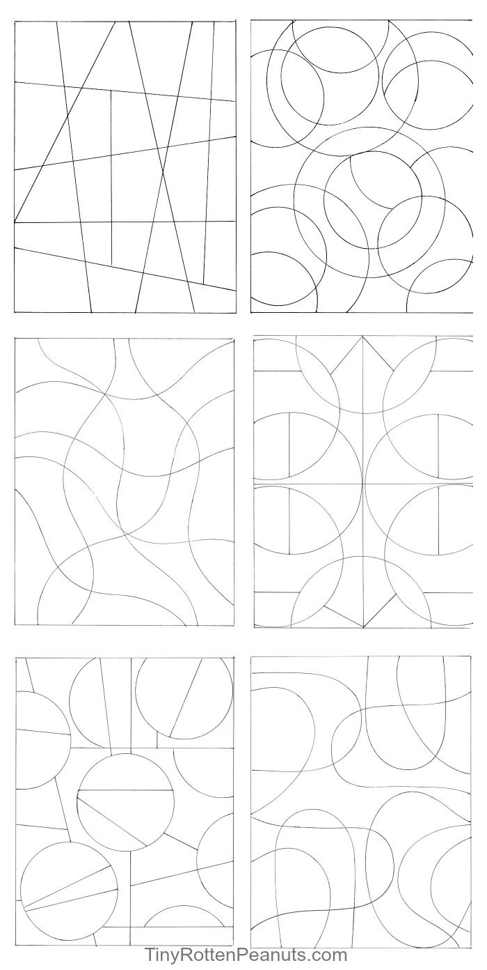 Inspired By Zentangle: Patterns and Starter Pages of 2020