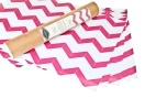 pink chevron drawer liners