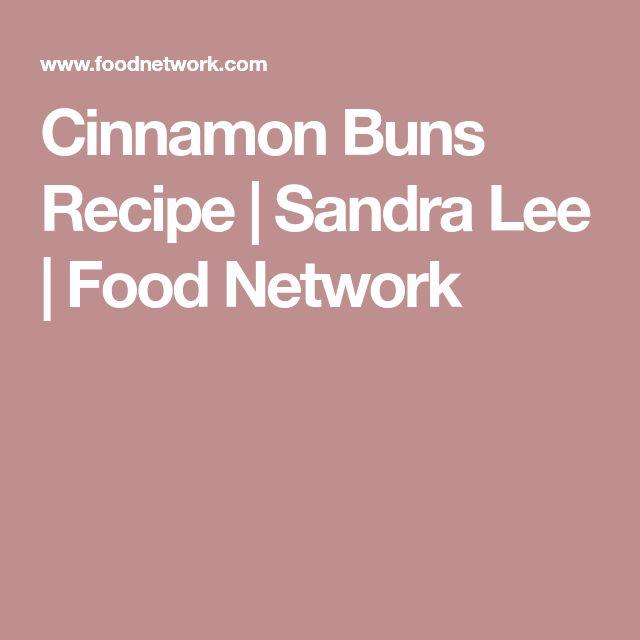 Cinnamon Buns Recipe   Sandra Lee   Food Network