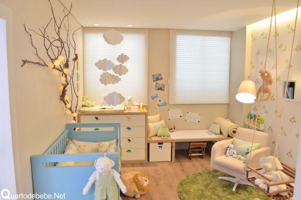 Quarto de bebê menino tema bichinhos | Quarto de bebê – Decoração, bebês, gravidez e festa infantil