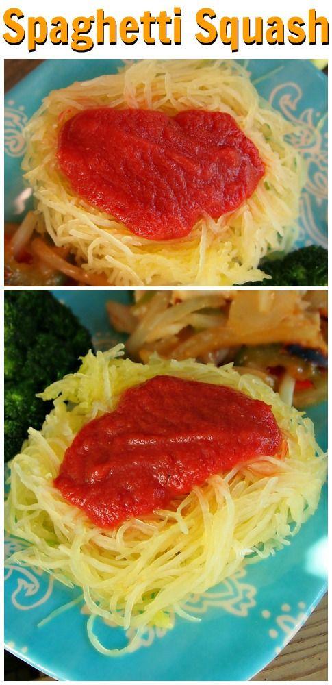 Spaghetti Squash- The Perfect 60 Calorie Pasta!