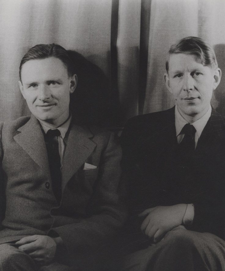 Christopher Isherwood and W.H. Auden, 1939