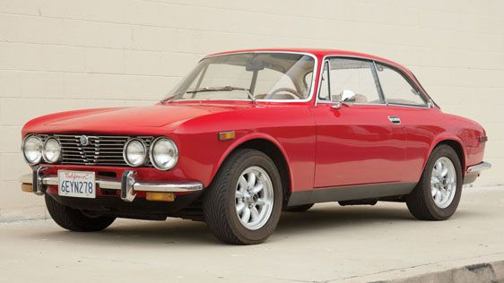 1974 Alfa Romeo GTV 2000 Coupe - U.S. Spec
