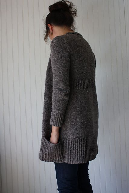 Ravelry: Linney Cardigan pattern by Amy Christoffers