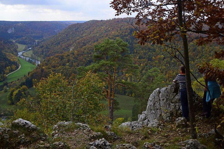 Blick ins Donautal zwischen Fridingen udn Jägerhaus