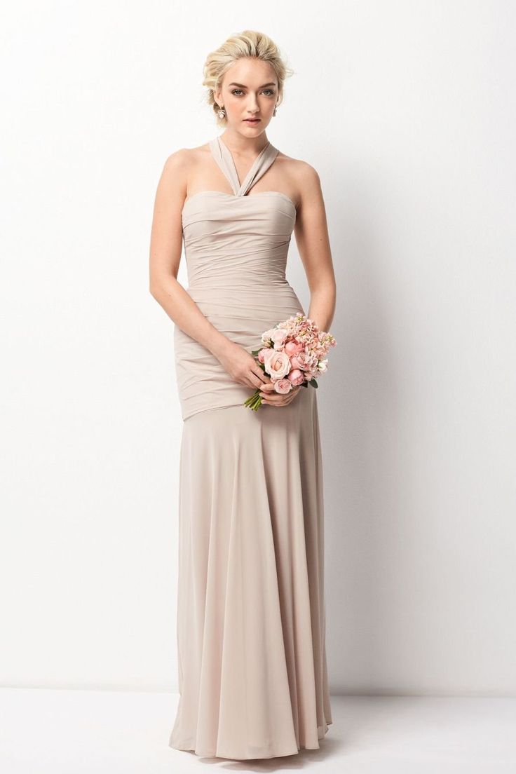 262 best bridesmaid dresses by veras house of bridals images on size 10 mocha wtoo 208 is a strapless inna chiffon floor length mermaid bridesmaid dress with a convertible neckline ombrellifo Images