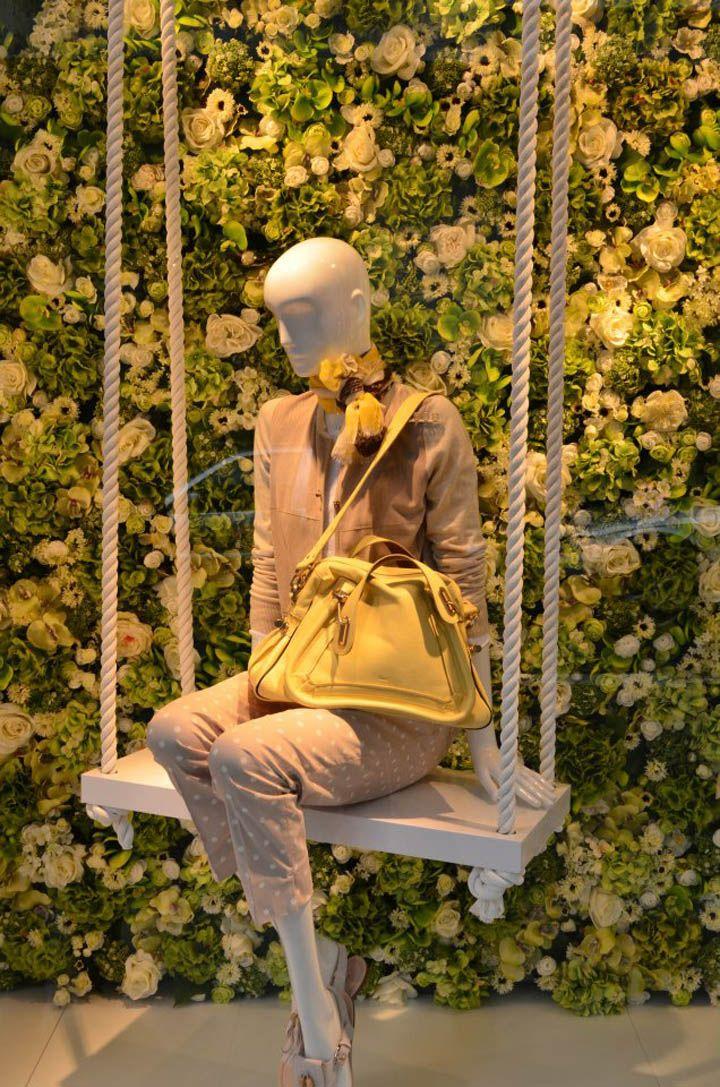 Eickhoff shop windows Spring, Düsseldorf  visual merchandising