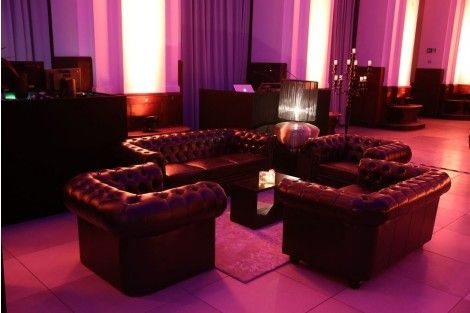 """Bank Chesterfield """"Blow up"""" midnight grey PVC - Lounge - Möbel"""