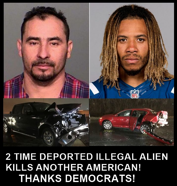 THIS NEEDS TO STOP! Sad and completely avoidable! Two more innocent young men died because our incompetent government chooses to not enforce our immigration laws. If you come into this country illegally, you show you have not respect for our laws.