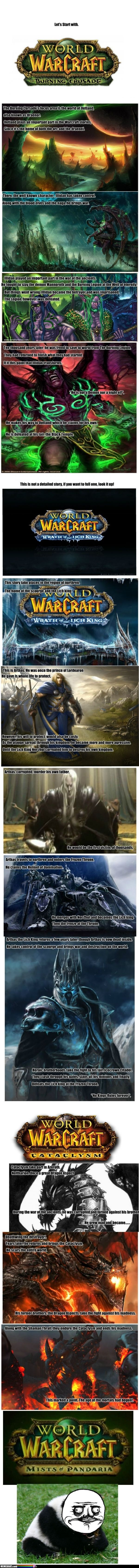 The World Of Warcraft Villians i laughed way too much at this lol