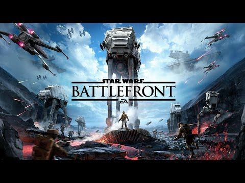 E3 2015 | Star Wars Battlefront: Multiplayer Gameplay - Walker Assault -...