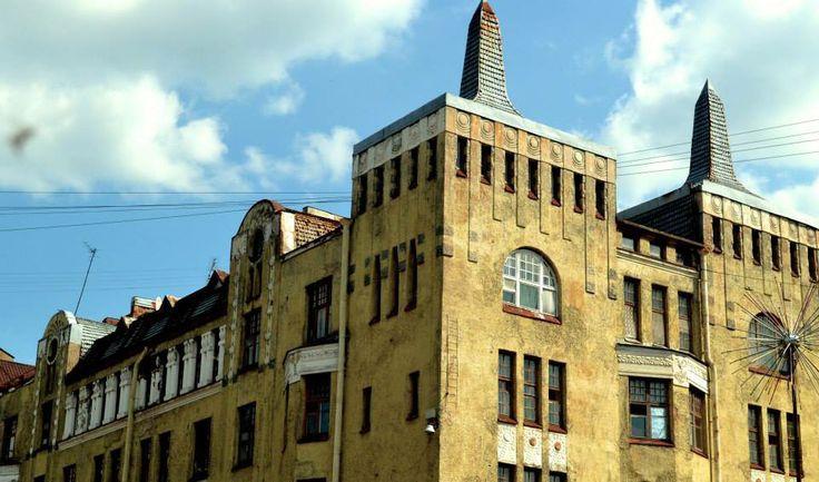 Moskvin House by Paavo Uotila, Vyborg/ Дом Москвина/ Пааво Уотлиа/ Выборг