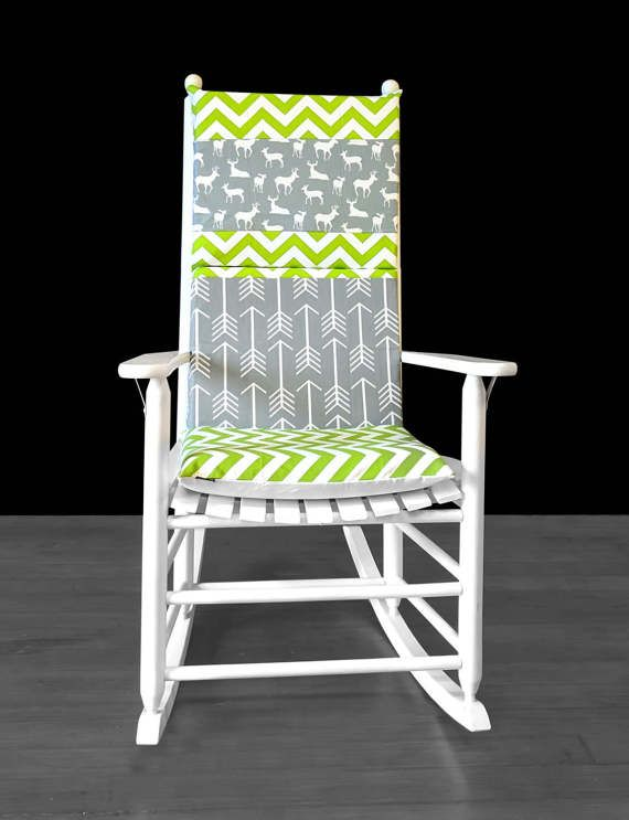 ... Chair Covers on Pinterest  Chair cushion covers, Glider rocking chair