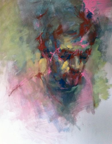 Cian McLoughlin. Painter.                                                                                                                                                                                 More