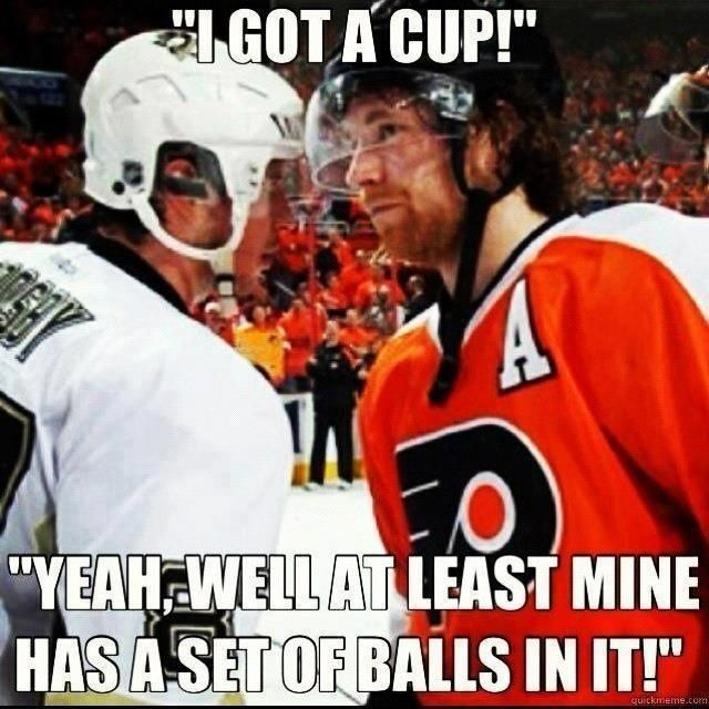 Stuff I Miss About Hockey   The Pittsburgh Penguins and Philadelphia Flyers Rivalry    Claude Giroux and Sid Crosby [Sidney Crosby]