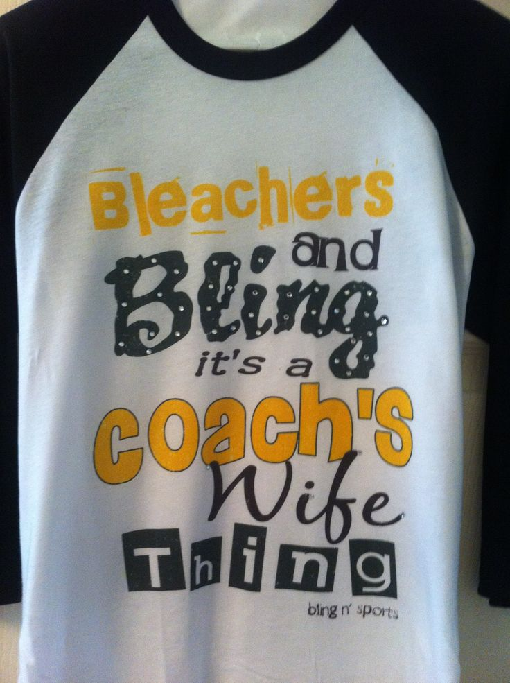Coach's wife, coaches wife, Coach wife, baseball, football, basketball, baseball raglan, bling n' sports