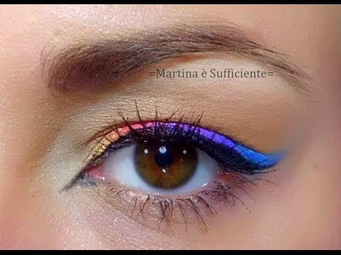 Tutorial: EYELINER MULTICOLOR!